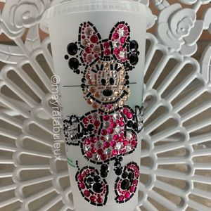 Minnie Mouse Crystalized Starbucks tumbler